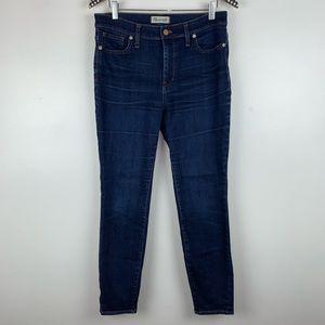 Madewell High Riser Skinny Jeans 31 X3958